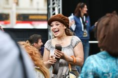 "cosettefauchelevent: ""The Les Miserables West End cast performing at West End Live in Trafalgar Square [x] "" Carrie Hope Fletcher, West End, Musical Theatre, Favorite Person, Dream Life, Role Models, I Movie, Carry On, Actors & Actresses"
