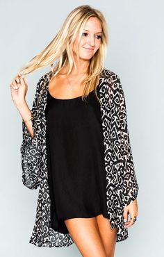 Show Me Your Mumu  Texas Kimono ~ WInter Creek