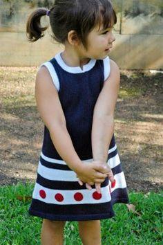 little inca sailor dress. from size 2
