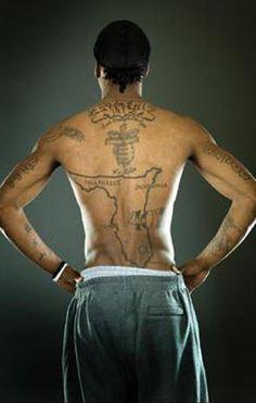 NBA Players Tattoos | nba basketball player marquis daniels tattoos