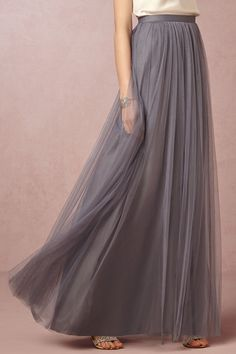 BHLDN Louise Tulle Skirt in Bridesmaids Bridesmaid Separates Skirts at BHLDN