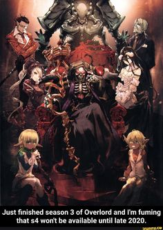 Overlord - Anime | Poster | Products | Anime, Anime dvd, Anime art