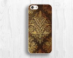 wooden style iPhone 5c casegold flower IPhone 5S by LiveCase, $9.99