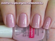 Esmaltes Da Kika uploaded this image to 'esmaltes'. See the album on Photobucket. Cute Nail Polish, Nail Polish Colors, Fall Nail Colors, Pedicure Nail Art, Nude Nails, Manicure And Pedicure, Fabulous Nails, Perfect Nails, Nail Paint Shades