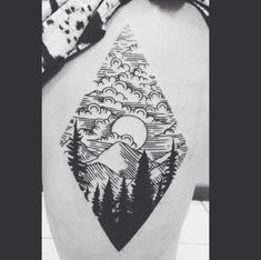 mountain thighpiece