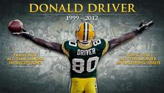 Donald Driver retires after 14 years as a Packers player. Got my tickets to the ceremony this morning!!