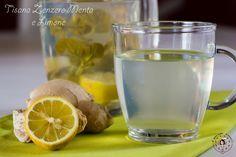 Tisana zenzero Menta e limone Veramente rinfrescante! Ottima come bevanda depurativa!