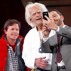fd0c74e11fb Back to the Future Skit on Jimmy Kimmel Live. Michael J FoxAre ...