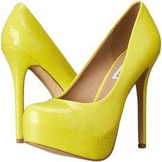 Steve Madden Nala Women's Shoes, Yellow