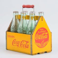 1940's Wooden Coca-Cola Carrier