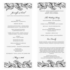 Word my big day on pinterest catholic wedding programs wedding