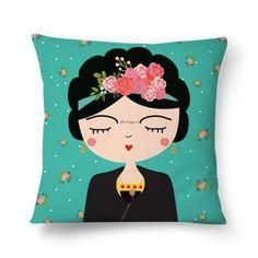 Frida Kahlo Pillow Nursery Modern Pillow Boho Girls by hangAprint (Diy Pillows Boho) Modern Pillows, Diy Pillows, Best Pillows For Sleeping, Frida Art, Nursery Modern, Feminist Art, Mexican Folk Art, Baby Kind, Grafik Design