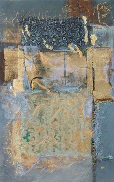 "Foro Di Memoria I 48 x 30"", Jinni Thomas"