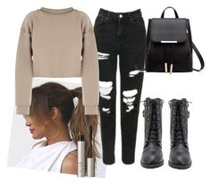 """""""Untitled #184"""" by perlahak ❤ liked on Polyvore featuring Champion, My Mum Made It and Ilia"""