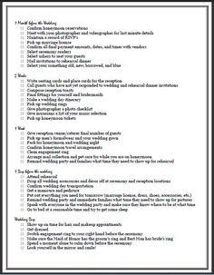 19 best wedding checklist images wedding ceremony checklist