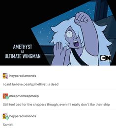 It's not any more dead than it was when Pearl was pining for Rose Quartz the entire rest of the series. Ships don't die until somebody dies, and even then you can still ship it. Just because it isn't canon/contradicts canon, doesn't mean that it's dead.
