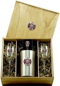 Firefighter Wine Set