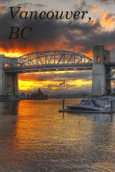#Vancouver is one of the most popular cities for US travellers. Boating, golfing, skiing and beautiful #sunsets await. If you have a record, but would like to visit #Canada, we can help.
