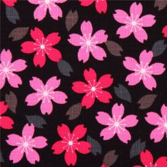 http://www.kawaiifabric.com/en/p7037-black-structured-cherry-blossom-flower-dobby-fabric-from-Japan.html