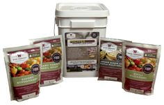 Wise Company Prepper Pack Emergency Food Supply | Bass Pro Shops // A smart choice for a storm shelter or home emergency kit, the Prepper Pack contains a collection of hearty, easy to prepare meals and drink mixes #stormshelter #prepperfood #camping  #backpacking