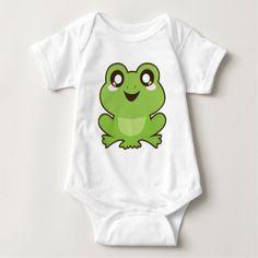 #cute #baby #bodysuits - #Cute Frog Baby Bodysuit