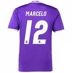 Real Madrid C.F Away 16-17 Season MARCELO #12 Soccer Jersey [G165]