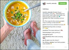 The gorgeous Rebecca from loving our shoes. Yummy looking soup too! Thanks for sharing Rebecca! Creamy Pumpkin Soup, Sisters, Recipes, Shoes, Zapatos, Shoes Outlet, Footwear, Shoe