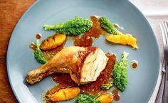 Gefülltes Mandarinen-Huhn
