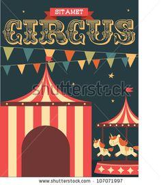 circus poster - Cerca con Google