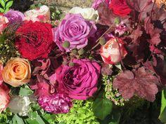 Rosen,Nelken, Hortensien, Anemone, Heuchera,Gras und mehr
