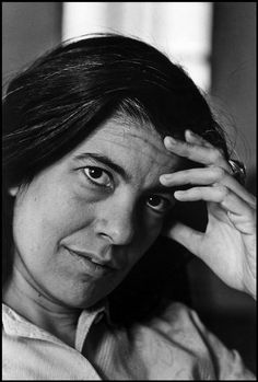 Susan Sontag (1933-2004) - American writer and filmmaker, professor, literary icon, and political activist. Photo © Bruce Davidson, 1971 / Magnum Photos