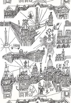 Views of Paris in Black & White, 2705780 http://www.fschumacher.com/search/ProductDetail.aspx?sku=2705780