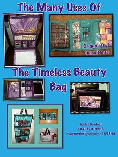 Timeless Beauty Bag- Many uses!!!                 Order today: www.mythirtyone.com/MortonSC