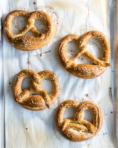 how to make non traditional pretzels