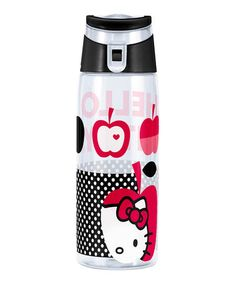 Another great find on #zulily! White Hello Kitty 25-Oz. Water Bottle by Hello Kitty #zulilyfinds