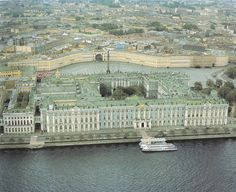 Romanov Family Winter Castle - The Hermitage. St. Petersburg  A Museum on the River Neva...my mother and her grandmother were named Neva....