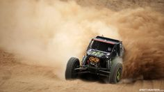 Shannon Campbell trying to catch up to the race leader with just a few miles to go during the 2013 King of The Hammers race in Johnson Valley California.....I was there :)