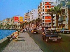 1980 lerde Kordon Visit Turkey, Old Town, Istanbul, Nostalgia, Street View, Painting, Old City, Painting Art, Paintings