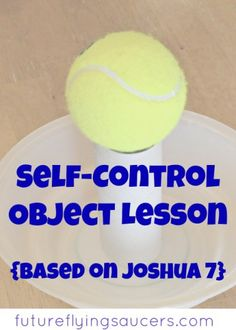 self-control object lesson Youth Group Lessons, Kids Church Lessons, Bible Lessons For Kids, Youth Groups, Children Sunday School Lessons, Youth Ministry Lessons, Young Women Lessons, Preschool Bible, Bible Activities