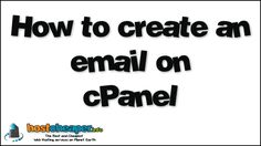 How to create an email on cPanel  The Best and Cheapest Web Hosting services on Planet Earth https://www.hostcheaper.info