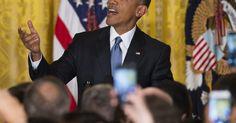 'Vai Corinthians' é ouvido em discurso de Obama na Casa Branca