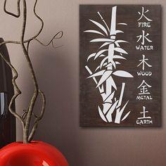 tableau citation en bois idal pour dcorer votre salon salle de bain - Photo Pour Salle De Bain Tableau