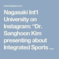 """Nagasaki Int'l University on Instagram: """"Dr. Sanghoon Kim presenting about Integrated Sports Science in Archery. Pictured on the slide are three Olympians he has coached, including NIU 4th year student Saori Nagamine (right), who will compete in the 2016 Rio Olympics. #niuglobal #sasebo #nagasaki #japan #studyabroad #university #日本#長崎#佐世保#japanese #studyjapanese #travel #japaneseculture #jlpt#studyinjapan#tourism#日本語#olympics#archery#rio2016#olympics2016#RoadToRio"""""""