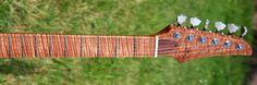 Flame Maple Fretboard - Custom Guitar
