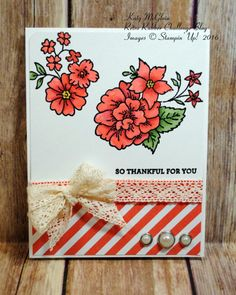 I Like You, Floral, Stampin' Up!