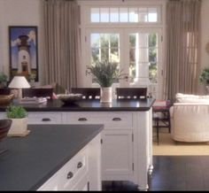 Somethings Gotta Give kitchen hardware Rolling island,faux painted granite mdf top! Yes!