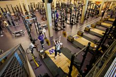 UW Athletics Weight Room!
