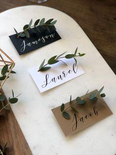 Wedding Trends The Favor Loft Personalized Escort Cards Wedding Table Name Cards, Wedding Favor Table, Wedding Favours, Wedding Souvenir, Baptism Favors, Craft Wedding, Table Cards, Party Favors, Wedding Places