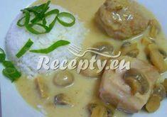 ▷ Krakonošovy krůtí kostky recept - Recepty.eu Cheeseburger Chowder, Soup, Meat, Chicken, Ethnic Recipes, Soup Appetizers, Soups, Buffalo Chicken, Cubs