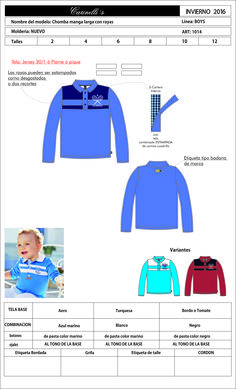 artículo 1014.ads chomba de nene del 2 al 12 tela jersey
